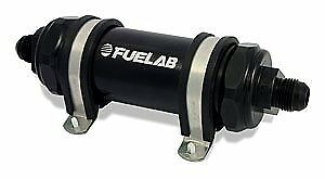 """Fuelab 82823-1 828 Series In-Line Fuel Filter with 5"""" Element"""
