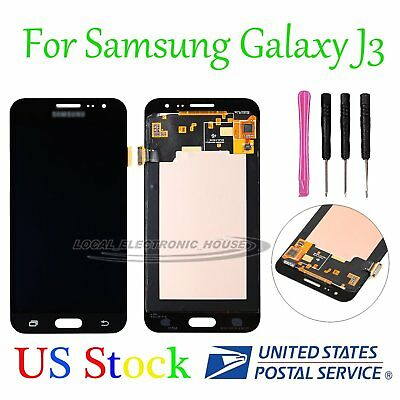 For Samsung Galaxy J3 2016 SM-J320FN LCD Touch Screen Digitizer Display Black US