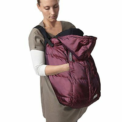 Stroller Blanket Footmuff, Car Seat and Baby Carrier,Plum