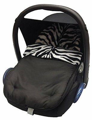 Animal Print Car Seat FootmuffCosy Toes Compatible with Joie Zebra