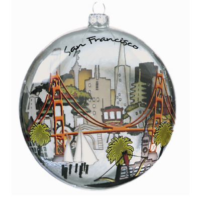 San Francisco Souvenir City Ornament