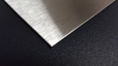 Stainless Steel Sheet Metal 304 #4 Brushed Finish 16 Gauge 30 in. x 27 in.