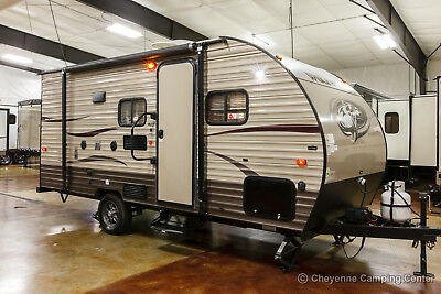 2017 Cherokee Wolf Pup 16BHS Lite Used Bunkhouse Travel Trailer For Sale Cheap