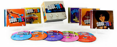 "Various Artists ""Soul of the '70s"" 10 CD Boxed Set Time Life"