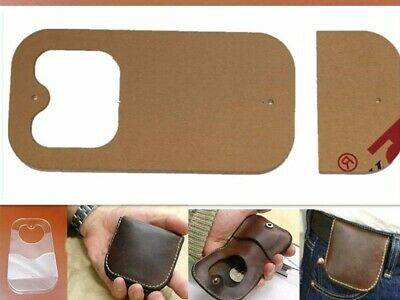 Leather Craft Acrylic Perspex Coin Purse Pattern Stencil Template Tool UK