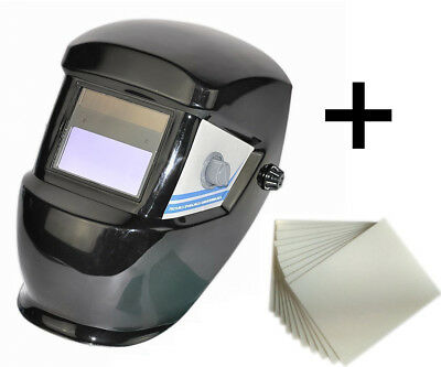 """Clear Spare Welding Shield Cover Lens 4.3/""""x3.5/""""protect Plate Welding Helmet 10PC"""