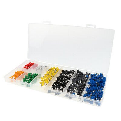 800pieces Assortment Crimp Connector Wire Terminals Kit Insulated Cord kit