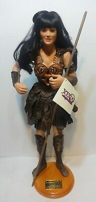 """Xena Warrior Princess George Harlan Porcelain Artist Doll Lucy Lawless 24"""""""