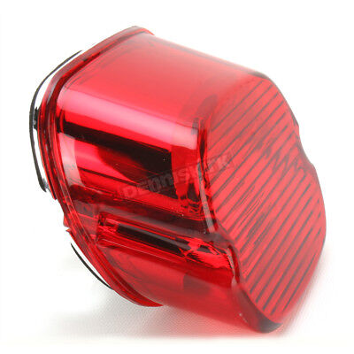 Taillight Replacement Lens Drag Specialties Red 12-0012-HC3