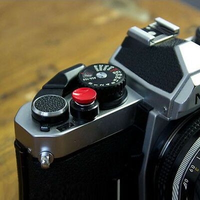 Concave Soft Shutter Release Button For Fujifilm X100 Leica M8 M6 M7 Gift