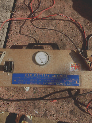 vintage car battery charger
