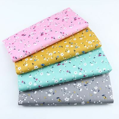One PCS Cotton Fabric Pre-Cut Cotton Fabric for Sewing Floral A1