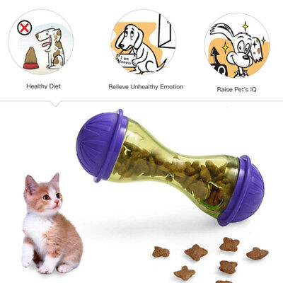 Pet Feeder Food Funny Dog Cat Food Dispenser Treat Ball Puppy Leakage Ball Toy
