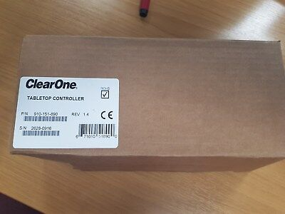 ClearOne TableTop Controller Professional Conferencing P/N: 910-151-890