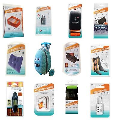 Travel Accessories Padlocks Cushions Bags TSA Approved Gone Travelling BoyzToys
