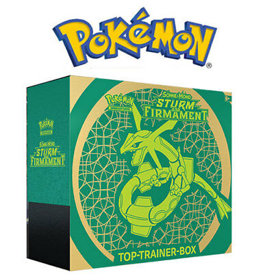 Pokemon Top-Trainer Box: Sonne & Mond 7 - Sturm am Firmament, Deutsch