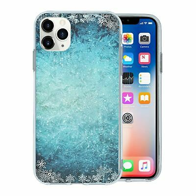 Silicone Phone Case Back Cover Winter Ice Snow - S4451