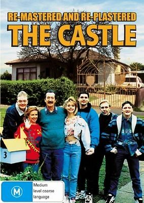 The Castle (Remastered) (DVD, 2008) REGION-4, NEW AND SEALED, FREE POST AUS-WIDE