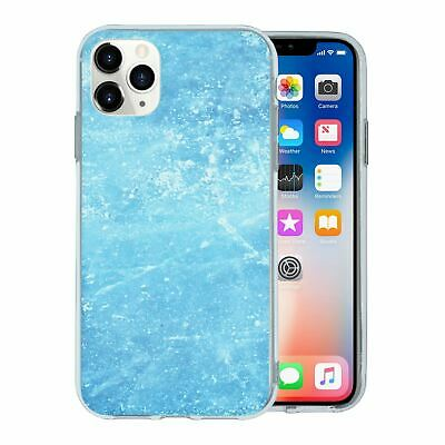 Silicone Phone Case Back Cover Winter Ice Snow - S4447
