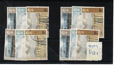 Gb  Wholesale - 1971 - (F401) - Ulster Paintings - Four Sets - Fine Used