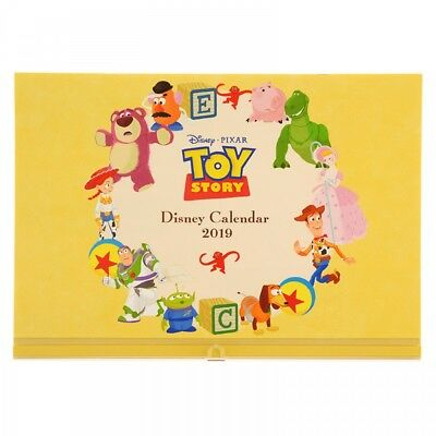 New Disney Store Japan Wall Calendar 2019 Toy Story Pixar From Japan F/S