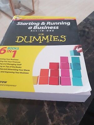 Starting & Running A Business All-In-One For Dummies Book By Colin Barrow 2011