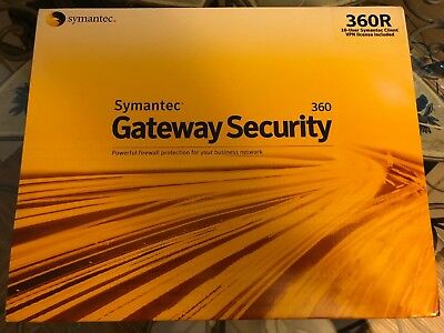 NEW SEALED SYMANTEC Gateway Security 320 Firewall SGS320 - $79 99