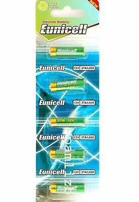 27A  12V Alkaline  batteries by  Eunicell   L828 MN27   A27   battery 0% Hg x 5