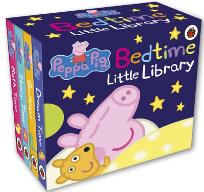 Pepa Pig Child Gift Bedtime Stories Library Board Book for Kids,Toddlers Baby