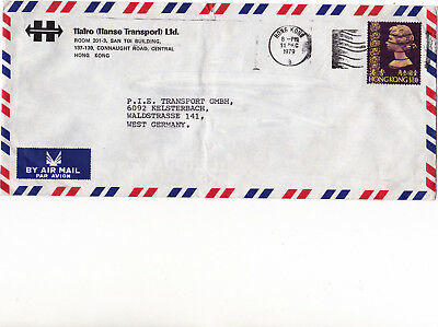 HONGKONG Air Mail Cover 1979