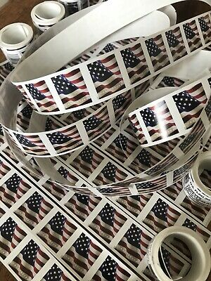 *DISCOUNT* 1000 USPS Forever Stamps US Star Spangled Flag Postage Sheet $550 FV