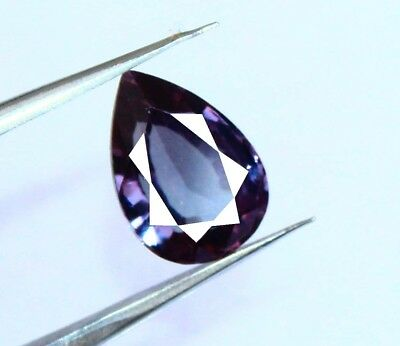 6.25Ct Certified Natural Russian Superb Color Changing Alexandrite Gems AX3762