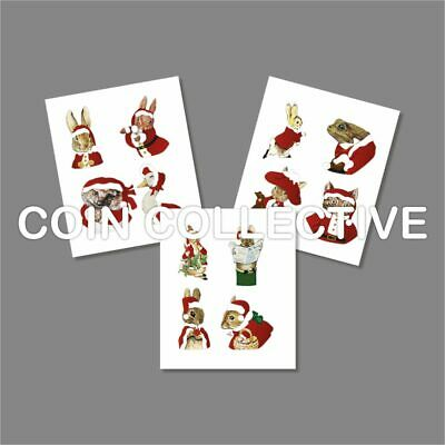 Beatrix Potter Christmas Decals 2016, 2017 and 2018. Fast FREE Delivery