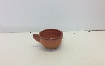 Child's Akro Agate Red Coral Cup Glass Tea Dishware Replacement Piece Only