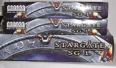 STARGATE SG-1 Best Lock LEGO Playsets (LOT of 3) 500+pieces Deathglider