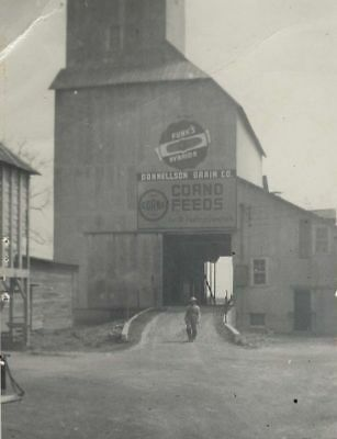 Donnellson Grain Co Donnellson Illinois 1950's Photo Feed Signs Free Shipping
