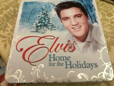Home for the Holidays by Elvis Presley Collectors Edition CD In Tin Boxed Set