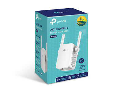 TP-Link RE305  Dual Band WiFi Range Extender - AC1200 1200Mbps