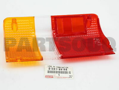 8156189166 Genuine Toyota LENS, REAR COMBINATION LAMP, LH 81561-89166
