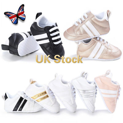 UK Girl's Boy's Toddler Casual Sports Walking Trainers Baby Kids Sneakers Shoes