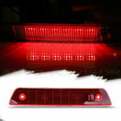 For 2005-2010 Jeep Grand Cherokee Red Lens Third 3RD Brake Led Tail Light Lamp