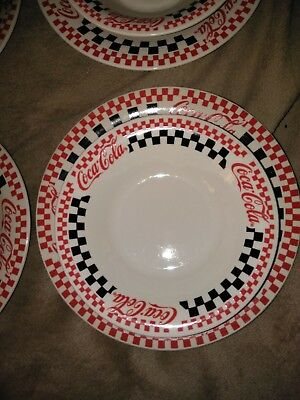 1999 COCA-COLA BY GIBSON plates and bowls