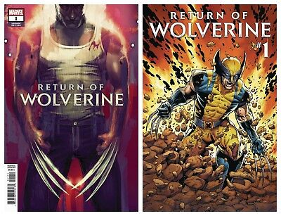 Return Of Wolverine #1 Cover A + Stephanie Hans Variant 2018