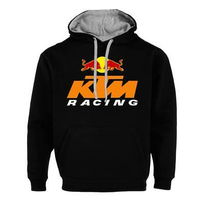 KTM Racing Red Bull Moto Herren Damen Fan Pullover Hoodie Sweatshirt Jacket