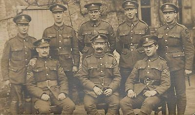 RPPC WWI English Soldiers