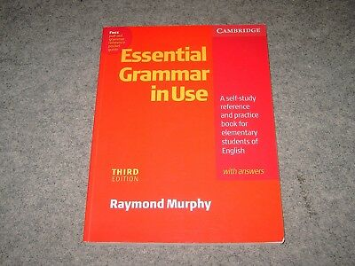 Essential Grammar in Use with answers for elementary students von Raymond Murphy
