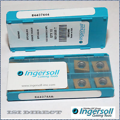 Spe 55L002 In2530 Ingersoll *** 10 Inserts *** Factory Pack ***