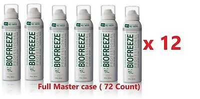 72 Packs Of BioFreeze Professional 360 Spray 4 fl oz, Exp.2021+--Depends On Us!!