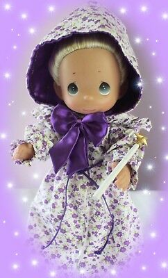 "✨Disney Princess Cinderella Fairy Godmother Precious Moments 12"" Vinyl Doll✨"