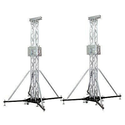 (2) PROX GROUND Support Truss Lifting Tower Roof System Top, Sleeve,  Outriggers